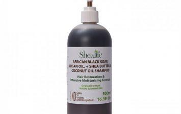 Argan& Shea Butter + Coconut& JojobaOil, BeardSoap, Beard Cleanse & Shampoo, Trim Soap, 70% Black Soap + 30% Castile, 250ml