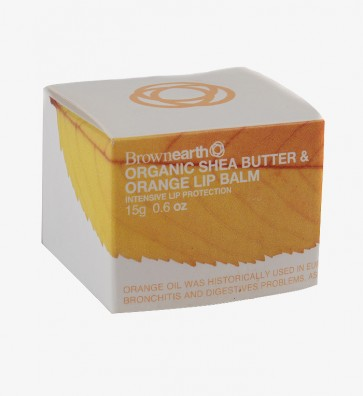 Organic Shea  & Orange Calendula, Lip Balm, 15g