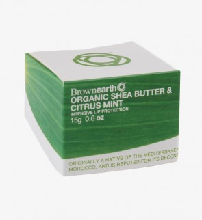 Organic Shea  & Jojoba Citrus Mint, Lip Balm, 15g