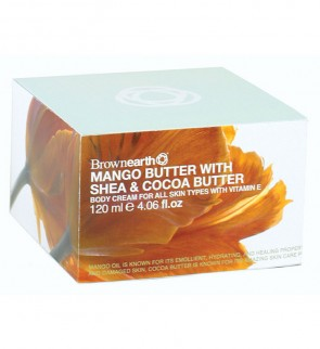 Mango, Shea & Cocoa Body Cream, 120mle